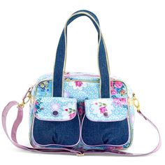 Hippe tas voor hippe meiden School Bags, Diaper Bag, Turquoise, Style, Girls, Fashion, La Mode, Swag, Little Girls
