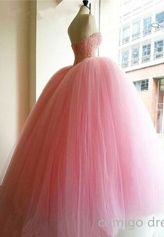 Handmade Quinceanera Dress For 16 ,Pink Quinceanera Dress,Ball Gown Quinceanera Dress,Vintage Prom Dress