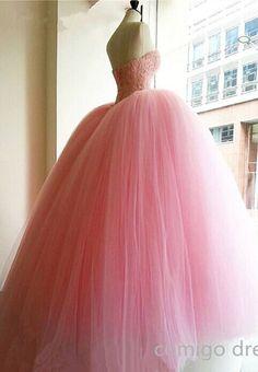Handmade Quinceanera Dress For 16 ,Pink Quinceanera Dress,Ball Gown Quinceanera Dress,Vintage Prom Dress
