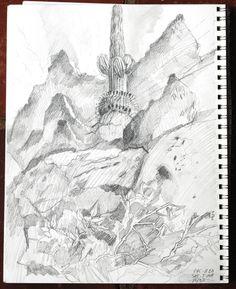 Sketchbook by Meredith Milstead