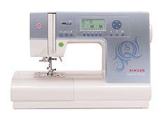 Singer 9980 Quantum Stylist 820-Stitch Computerized Sewin...