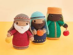 Amigurumi Magazine Uk : Crochet nativity part free knitting patterns amigurumi uk
