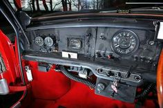 Red Mini Cooper, Mini Coopers, Classic Mini, Classic Cars, Mini Stuff, Car Interiors, Motor Sport, Dashboards, Newfoundland