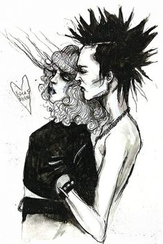 Sid and Nancy by Lucas David