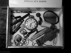 Jem's box of treasures from To Kill a Mockingbird (movie)