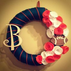 Miami Dolphins Wreath $33 + $9 S&H Contact hey.yall430@yahoo.com for more info