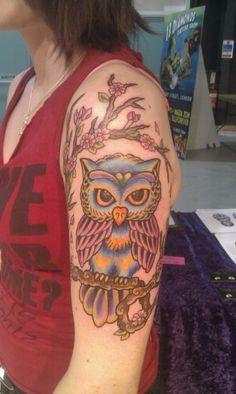 Owl tatt
