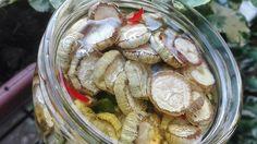 Zucchine essiccate sott'olio