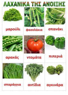 η ανοιξη - Поиск в Google Learn Greek, Greek Language, Greek Words, Word Pictures, Food Crafts, Spring Crafts, Trees To Plant, Vegetables, Plants