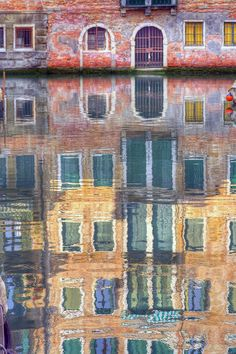 Reflections of Venice, Italy