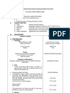 Detailed Lesson Plan in Mathematics Grade 2 Phonics Lesson Plans, Phonics Lessons, Lesson Plan Examples, Lesson Plan Templates, Lesson Plan In Filipino, School Name Labels, Active And Passive Voice, School Report Card, Describing Words