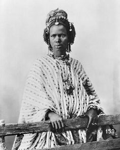Africa | Senegalese woman, c.1900