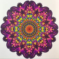 ColorIt Mandalas Volume 1 Colorist: Carol Love #adultcoloring #coloringforadults #adultcoloringpages #mandalas Geometric Flower, Flower Mandala, Mandala Art, Mandala Coloring Pages, Adult Coloring Pages, Coloring Books, Elefante Hindu, Zen Colors, Sacred Geometry Tattoo