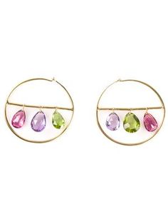 MARIE HELENE DE TAILLAC hoop earrings
