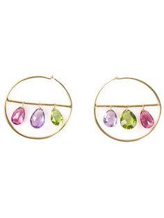 MARIE HELENE DE TAILLAC hoop earrings