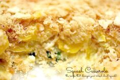 Squash Casserole - this delicious recipe will turn even those who don't like squash into true believers
