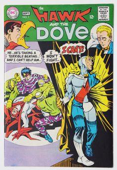 Hawk and Dove 1 Comic BookVintage Silver Age DC by Rochford23
