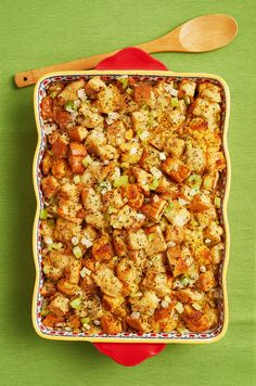 This Thanksgiving Stuffing Has the Perfect Texturethepioneerwoman Easy Thanksgiving Recipes, Fall Recipes, New Recipes, Holiday Recipes, Cooking Recipes, Favorite Recipes, Thanksgiving 2020, Holiday Meals, Holiday Dinner