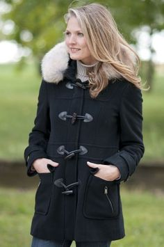 Women's Andrew Marc Charm Cashmere-Blend Wool Coat with Coyote Fur Trim Andrew Marc. $298.00