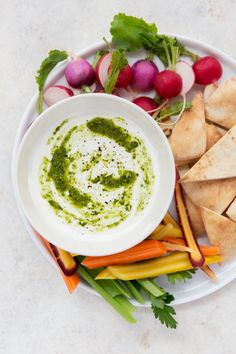 Recipe: Lemon-Garlic Whipped Feta with Pesto — Quick and Easy Appetizers