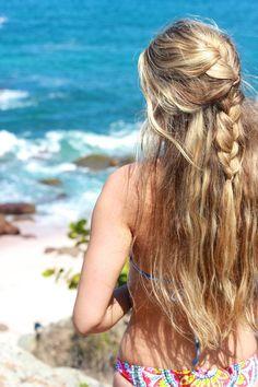 beach hair <3