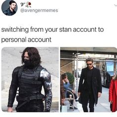 this is me so I'm gonna start tagging people in my posts comment if u want to be tagged in my next post - - - - -#marvel #infinitywar #mcu #sebastianstan #wintersoldier #buckybarnes #avengers #avengersinfinitywar