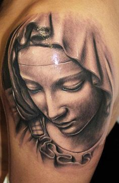 Realism Religious Tattoo by Riccardo Cassese - http://worldtattoosgallery.com/realism-religious-tattoo-by-riccardo-cassese-2/