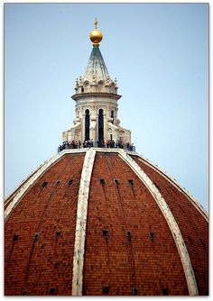   ♕    top of Duomo, Florence    463 beautiful steps to top! Lovely! 2007