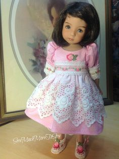 Little Darling Dianna Effner Doll Dress door SewMuchMoreToSew