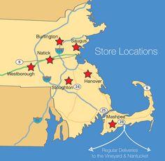 Boston Interiors Furniture Store Locations | Burlington, Hanover, Mashpee,  Natick, Saugus, Stoughton And Westborough | Shopping | Pinterest | Boston  ...
