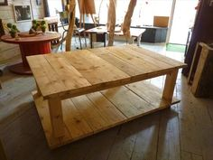 How to Make Your Own Wood Coffee Table | 99 Pallets