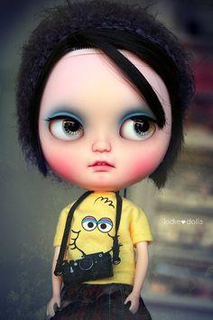 Keiko Icy custom art ooak doll by by Jodiedolls