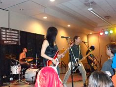 eyeshine band performing at anime blast Chattanooga