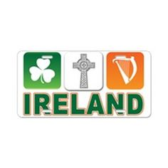 Irish pride Aluminum License Plate by - CafePress License Plate Designs, Speed Bump, Irish Pride, Plates, Humor, Sayings, Prints, Licence Plates, Dishes