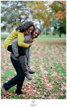 Ebony and Jeremy's Detroit Engagement Session and love story on the blog!
