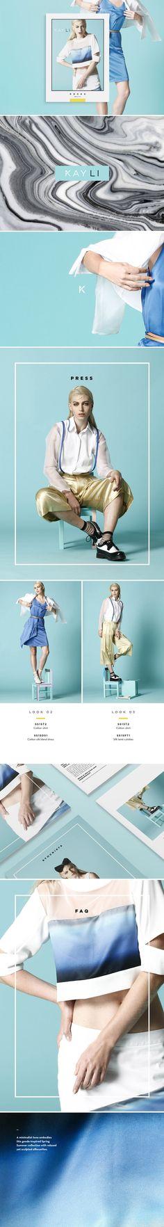 Fashion media kit para indumentaria