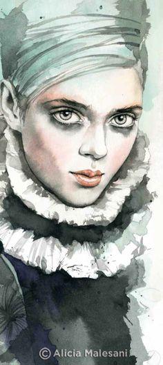 Alicia Malesani #illustration #draw