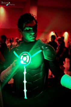 Green Lantern #cosplay Dragon*Con 2013