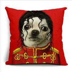 Lovely Cat & Dog Throw Pillows Case