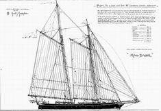 Daniel Z. Nautical Design, Nautical Art, Boat Plans, Tall Ships, Model Ships, Rowing, Sailing Ships, Ocean, Sailboats