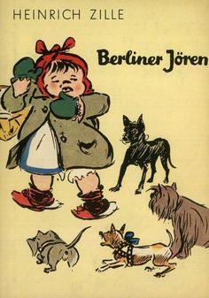 Heinrich Zille - 4 Werke mit Widmungen von Zilles Kindern