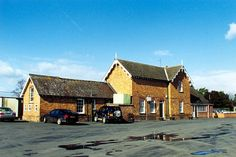 The old railway station at Billingborough, near Bourne, Lincolnshire
