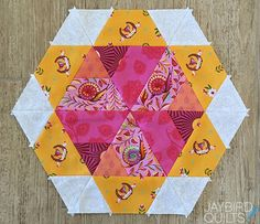 Sweet Tooth Block 10 - Candy Corn | Jaybird Quilts