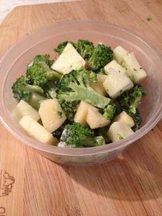 Apple and Broccoli Salad Recipe via @SparkPeople