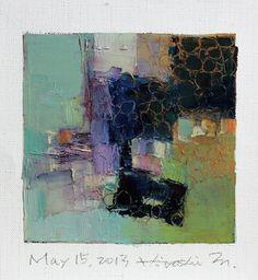 May 15 2013  Original Abstract Oil Painting  by hiroshimatsumoto, $60.00