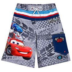 3b6ad09be6 Cars 2 Lightning McQueen Swim Trunks for Boys Baby Boy Swimwear, Baby  Swimsuit, Baby