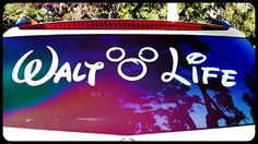 Large vinyl decal from Waltlife. #waltlife