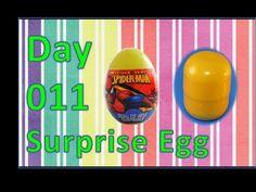 dia 011 ovo surpresa kinder marvel spiderman homem aranha - YouTube