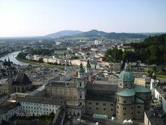 ...amazing view of Salzburg