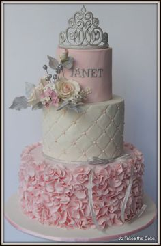 Adult Princess - Cake by JoTakestheCake - CakesDecor